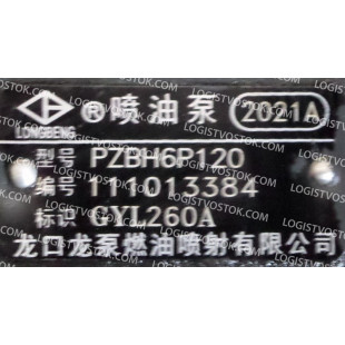 2021A PZBH6P120 111013384, GYL260A