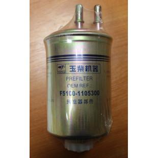 Фильтр топливный грубой очистки, ГУРАН, F5100-1105300