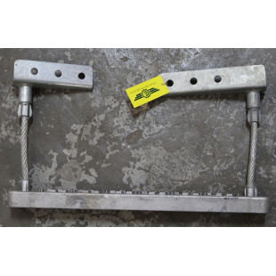 Подножка алюминиевая (нижняя правая), SHAANXI, F3000, DZ13241240435