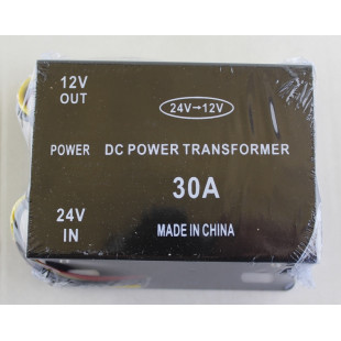 Конвертор напряжения импульсный, 24V-12V, 30A, 13136