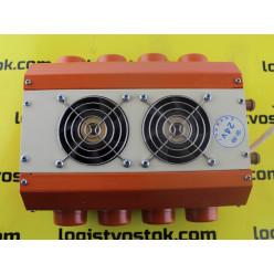 Печь доп отопления салона двухсторонняя 4x4 отверстия, 24V