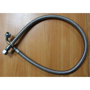 Шланг компрессора (армированный, наконечник г-обр), D=22 мм, L=1130 мм, гайка/гайка