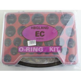Набор уплотнительных колец (49 размеров, 800 шт), O-RING KIT, 49/800, 20411