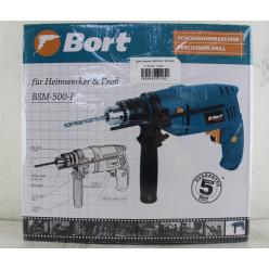 Дрель ударная, BORT, BSM-500-P, 93729080