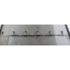 Трубка топливная обратки форсунок топливной системы, WP12, 612630040128